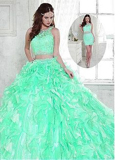 ef0a4881ee5 12 Best Two Piece Quinceanera Dress for 2016 images