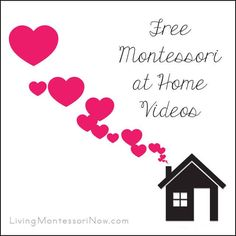Video categories at Living Montessori Now with new category of free Montessori at Home videos! Post includes Montessori Monday permanent collection