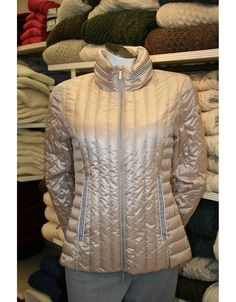 Winter Sale Reduction in this Beaumont Amsterdam down duvet jacket with detachable hood, perfect for chilly days when a coat is not required from Irish Handcrafts instore and online. Beaumont Amsterdam, Spring Jackets, Winter Jackets, Irish Fashion, Summer Jacket, Winter Sale, Winter Collection, Duvet, Hooded Jacket