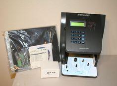 Schlage HandPunch HP-3000 Ethernet Biometric Employee Time-Clock Power & Keys #Schlage #office #TheSmartShoppe #FREESHIPPING