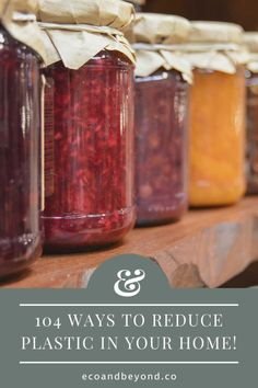 104 Ways to Help You Reduce Plastic in Your Home! Plastic Packaging, Paper Packaging, Use Of Plastic, Leftovers Recipes, Coffee Pods, Food Waste, Sustainable Living, Plastic Bottles, Glass Jars