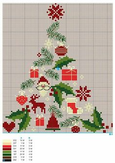 pines and needles Cross Stitch Christmas Ornaments, Xmas Cross Stitch, Christmas Embroidery, Cross Stitch Kits, Christmas Cross, Cross Stitch Charts, Cross Stitch Designs, Cross Stitching, Cross Stitch Embroidery