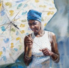 """Sun Umbrella"" Mary Whyte 