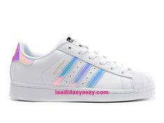 Adidas Chaussures Femme Superstar Junior Classic Foundation Prix Blanc Argent AQ6278