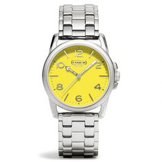 The Sydney Stainless Steel Bracelet Watch from Coach