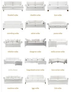 Types Of Sofas Couches Explained WITH PICTURES Interiors - Types of sofa