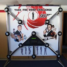 James Bond Theme Bar Mitzvah Party Ideas - Batak Pro by Interactive Entertainment Group - mazelmoments.com