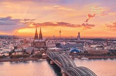 Köln / #Cologne at #Sunset