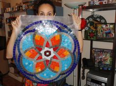 https://flic.kr/p/9hBub6 | Proyecto de mosaico sobre malla | fjmosaicart@gmail.com
