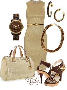 """""""Gold"""" by stacy-klein on Polyvore"""