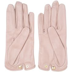 MARIO PORTOLANO Nappa Leather Gloves ($135) ❤ liked on Polyvore featuring accessories, gloves y nappa leather gloves
