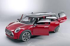 Seat fitting in the Mini Clubman Concept - Video - autobild.de