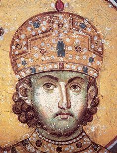Константин Великий (работа Мануила Панселина)