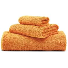 Abyss Towel set - Mandarin found on Polyvore
