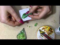 DIY orecchino o ciondolo con seta shibori ribbon tutorial fai da te embroidery parte 1 - YouTube