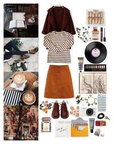 """""""Would you run after me?"""" by bands116 ❤ liked on Polyvore featuring MM6 Maison Margiela, American Apparel, WithChic, NYX, Børn, Sweet Romance, Nikon, William Morris, Forever 21 and Design 55"""