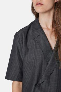 TOPSHOP   Boutique 'Takashi' Wrap Shirt   Nordstrom Rack