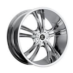 2 Crave SF-1™ Wheels - No 2 Chrome