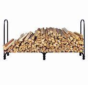 New 8 Feet Outdoor Heavy Duty Steel Firewood Log Rack Wood Storage Holder Black Firewood Rack Plans, Indoor Firewood Rack, Firewood Logs, Firewood Holder, Firewood Storage, Recycled Trampoline, Log Home Interiors, Landscape Timbers, Log Home Plans