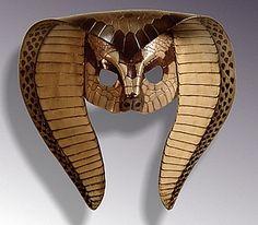 Cobra leather mask by Shapeshifter or Duncan Eagleston of Maskmaker.com