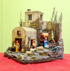 Resultado de imagen para pinterest+presepi Christmas Nativity Scene, Christmas Villages, Driftwood Art, Toy Soldiers, 3d Wall, Christmas Decorations, Presents, Xmas, Snow Globes