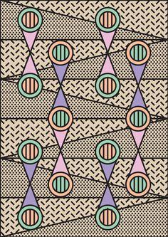 Tim Colmant #Patterns decdesignecasa.blogspot. - print. Via thepatternbase.com