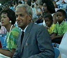 Alpha Ph Alpha Fraternity, Inc.  Brother Norman Washington Manley, Prime Minister of Jamaica, 1955-62.