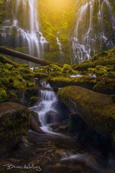 Jurassic Falls. by Brian Adelberg on 500px