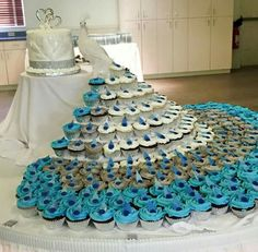 Gâteau de mariage paon