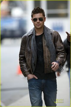 A fantastic and classic men's leather jacket never goes out of style, and will always be a staple go to piece for a date.