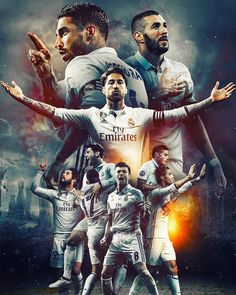 Real Madrid 2017 wallpaper by xhani_rm - db - Free on ZEDGE™ Real Madrid Cake, Real Madrid Team, Hazard Real Madrid, Real Madrid Football, Real Madrid Players, Ronaldo Real Madrid, Messi Vs Real Madrid, Real Madrid Logo Wallpapers, Cr7 Wallpapers