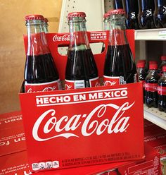 6-Pack of Mexican Coke with 12 oz bottles