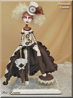 Custom Monster High Steampunk Couture