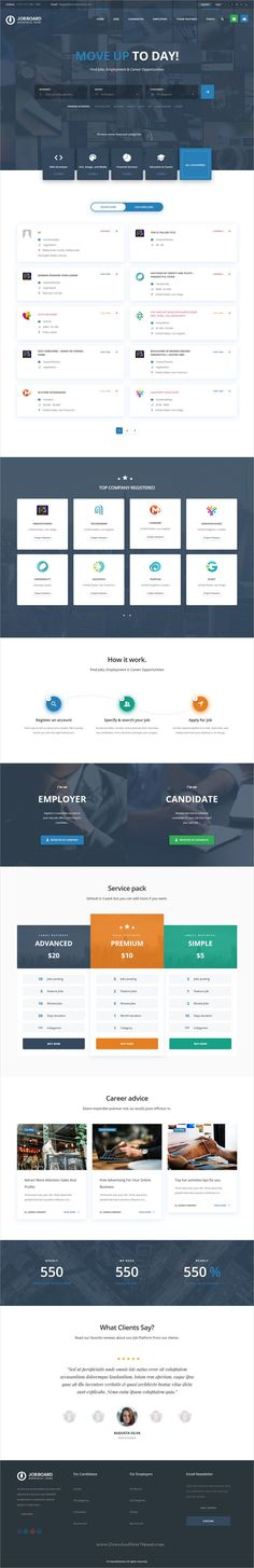 InJob is clean and modern design 5+ responsive #WordPress theme for #Job board, #recruiting agencies and #HR human resources companies website download now..