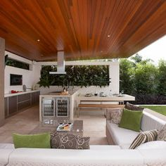 Entertainment Area Design Ideas Pictures Remodel And Decor Modern Outdoor Living