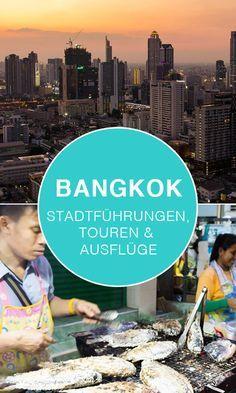 Die besten Touren und Stadtführungen durch Bangkok. So entdeckst du Bangkok am besten. Mehr dazu auf unserem Blog.