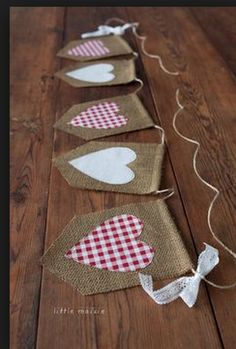 Birthday Gingham Burlap Bunting!