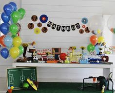 Festa Tema Esportes   Em homenagem à Olimpíada 2016!!   Vai Brasil!!    #festaesportes #olimpíadas2016 #rio2016 #vaibrasil #temaesport...