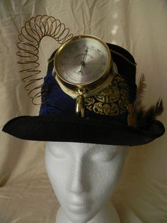 Steampunk Top Hat.