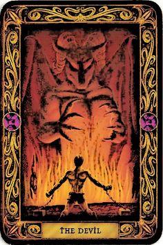The Devil - Major Arcana Tarot Card