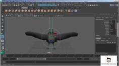 A.S  Maya Tutorial for Beginners 2016  24 - Mirror And Layout UVs