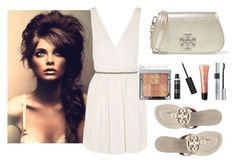 """""""SUMMER"""" by freckled-gypsy ❤ liked on Polyvore featuring Topshop, Tory Burch, Bobbi Brown Cosmetics and Christian Dior"""