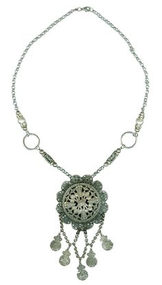 This Dixon's Future Silver Necklace is made by a local New Orleans designer!
