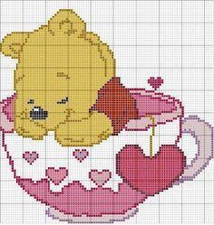 ENCANTOS EM PONTO CRUZ: Winnie the Pooh
