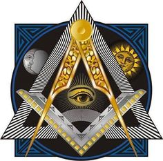 The word is derived from the Latin occultus, hidden; so that it is the study of the hidden laws of nature. Since all the great laws of nature are in fact working in the. Masonic Art, Masonic Lodge, Masonic Symbols, Freemason Symbol, Ancient Symbols, Masonic Tattoos, Pattern Tattoos, Alchemy, Astrology