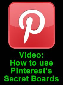 Pinterest's Secret Boards