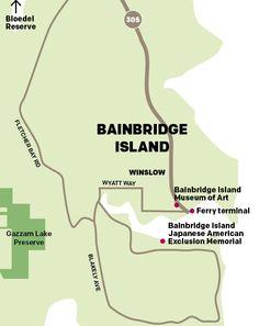 take a ferry (or sail!) to Bainbridge Island