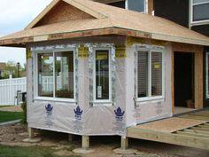 window installation four season porch addition lakeville mn