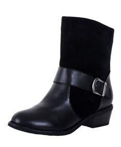 Black British Style Martin Boots