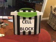 My cell phone jail for middle school this year!